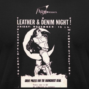 Leather Night - Men's T-Shirt by American Apparel