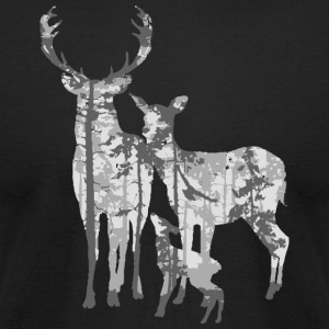 Deers forest - Men's T-Shirt by American Apparel