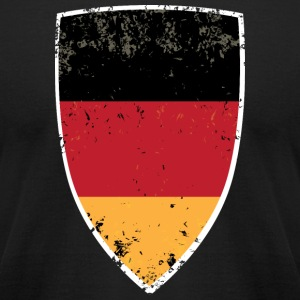 German Flag - Men's T-Shirt by American Apparel