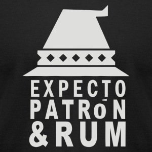 Expecto Patron Rum - Men's T-Shirt by American Apparel
