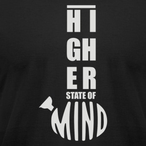 Higher State of Mind - Men's T-Shirt by American Apparel