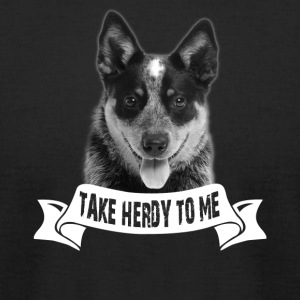 Australian Cattle Dog Tshirt - Men's T-Shirt by American Apparel