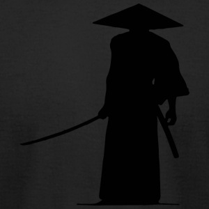 Samurai - Men's T-Shirt by American Apparel