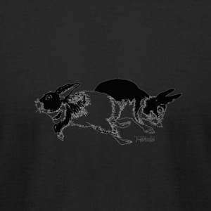 Bunnies - Men's T-Shirt by American Apparel
