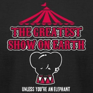 Elephants Hate the Circus - Men's T-Shirt by American Apparel