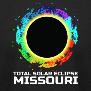 Total Solar Eclipse Missouri 08.21.2017 - Men's T-Shirt by American Apparel