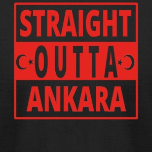 straight outta Ankara TUeRKEI - Men's T-Shirt by American Apparel