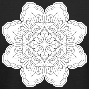 Mandala design element round ornament - Men's T-Shirt by American Apparel