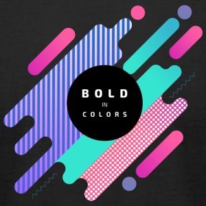 Bold Colors - Men's T-Shirt by American Apparel