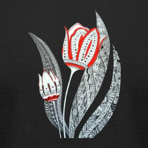 Tulip Flower - Men's T-Shirt by American Apparel