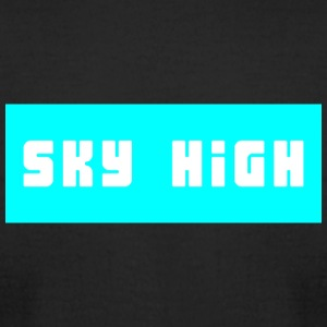 Sky High box logo - Men's T-Shirt by American Apparel