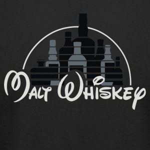 MALT WHISKEY - Men's T-Shirt by American Apparel