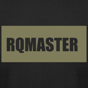 RQMASTER_logo - Men's T-Shirt by American Apparel