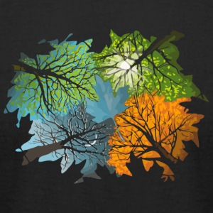 Four Seasons In One Day - Men's T-Shirt by American Apparel