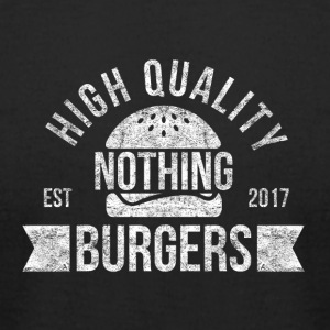 Nothing Burger - Men's T-Shirt by American Apparel