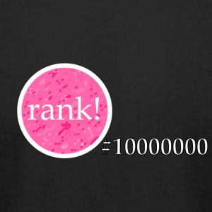 Rank 10 million - Men's T-Shirt by American Apparel