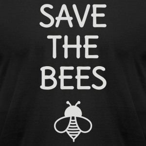 Save The Bees - Men's T-Shirt by American Apparel