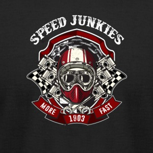 Speed Junkie more fast - Men's T-Shirt by American Apparel