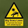 Big Scary Laser - Men's Fine Jersey T-Shirt