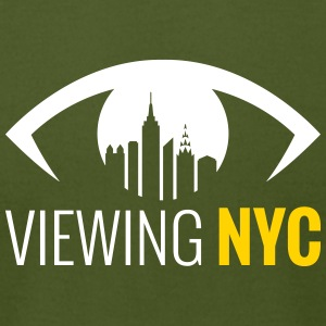 Viewing NYC - Men's T-Shirt by American Apparel