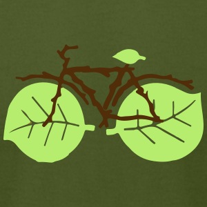 nature bicycle - Men's T-Shirt by American Apparel