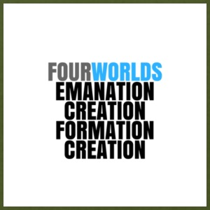 Four Worlds and the process of creation. - Men's T-Shirt by American Apparel