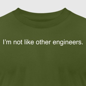 Engineers - Men's T-Shirt by American Apparel
