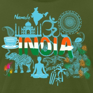Welcome to India Shirt - Men's T-Shirt by American Apparel
