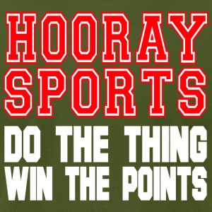 Hooray Sports Do The Thing Win The Points T Shirt - Men's T-Shirt by American Apparel