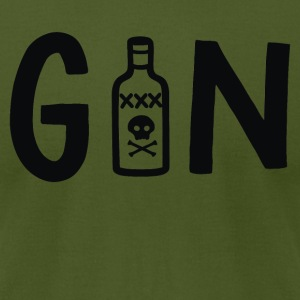 Gin - Men's T-Shirt by American Apparel