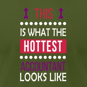 Accountant Job Shirt/Hoodie/Tank Gift-Hottest Look - Men's T-Shirt by American Apparel