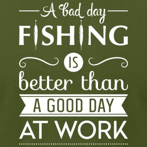 A bad day fishing - Men's T-Shirt by American Apparel