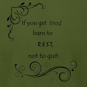 Learn to Rest - Men's T-Shirt by American Apparel