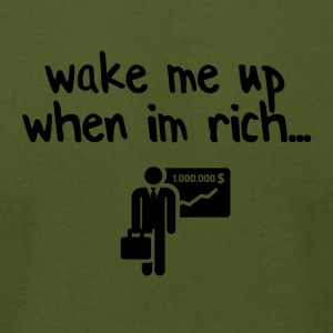 Wake me up - Men's T-Shirt by American Apparel