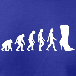 The Evolution Of Shoes - Men's T-Shirt by American Apparel