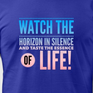 Horizons - Men's T-Shirt by American Apparel