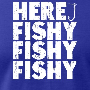 Here Fishy Fishy Fishy - Men's T-Shirt by American Apparel