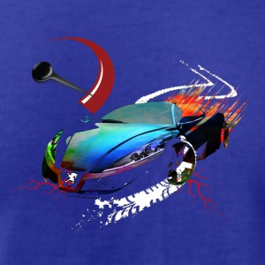 Car in motion - Men's T-Shirt by American Apparel