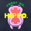 Frog? No. Hippo. - Men's Fine Jersey T-Shirt