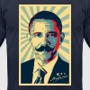 Mobama - Barack Obama Mustache - Men's Fine Jersey T-Shirt