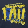EVERYBODY LOVES A SAUSAGE PARTY Women's T-Shirts - Men's Fine Jersey T-Shirt