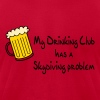 My Drinking Club Has A Skydiving Problem - Men's Fine Jersey T-Shirt