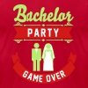 Bachelor Party Game Over - Men's Fine Jersey T-Shirt