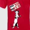 Say NO to Fur - Men's Fine Jersey T-Shirt