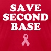 Save Second Base - Men's Fine Jersey T-Shirt