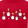 Crazy Chickens - Chicken - Hens - Men's Fine Jersey T-Shirt