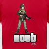 Battlefield Friends - Noob - Womens Tee - Men's Fine Jersey T-Shirt