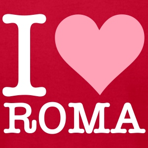 I Love Rome - Men's T-Shirt by American Apparel