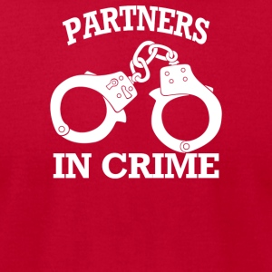 Partners In Crime - Men's T-Shirt by American Apparel