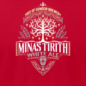 Minas Tirith White Ale - Men's T-Shirt by American Apparel